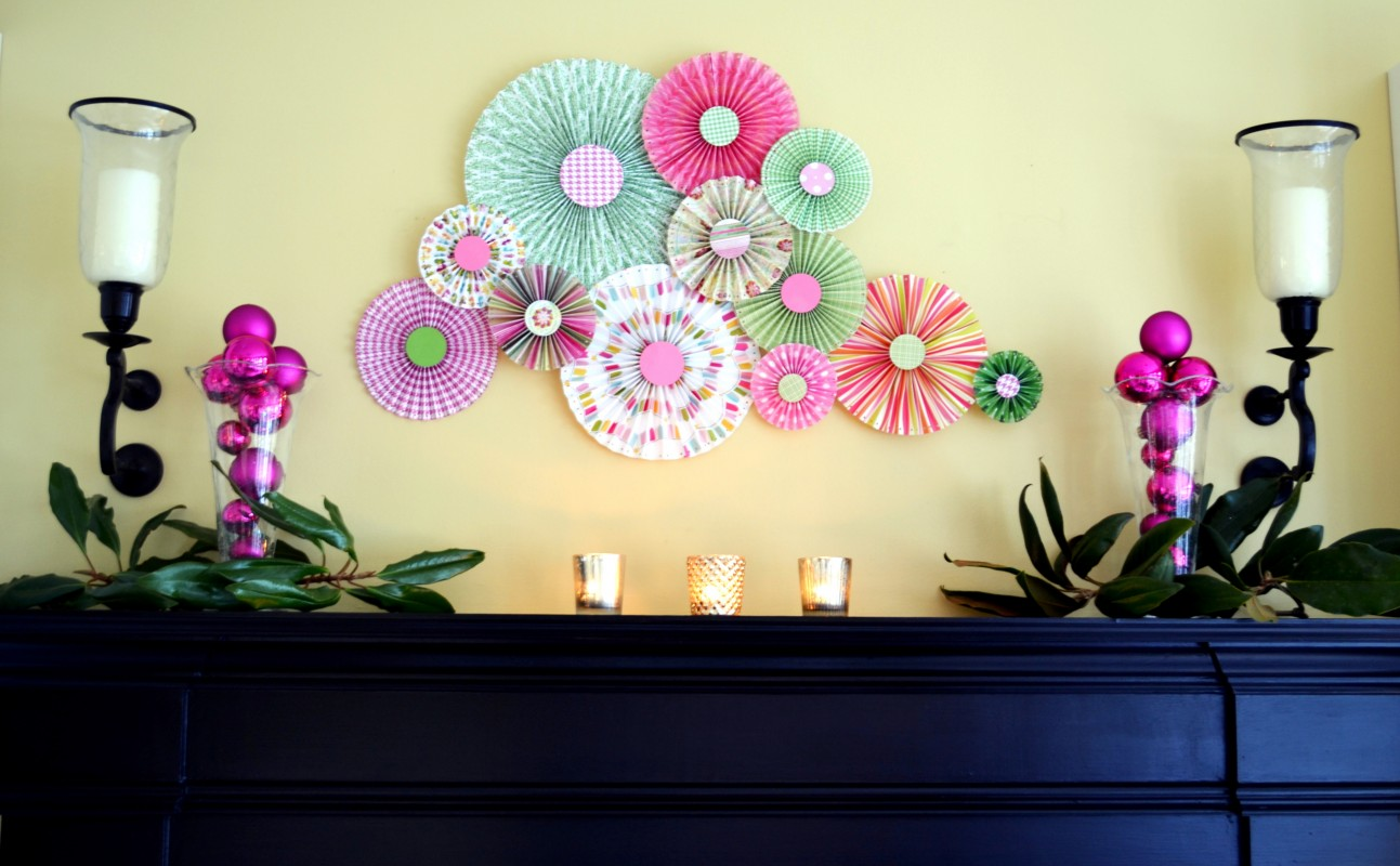 Magnificent Wall Decorations For Girl Baby Shower Ideas - The Wall ...